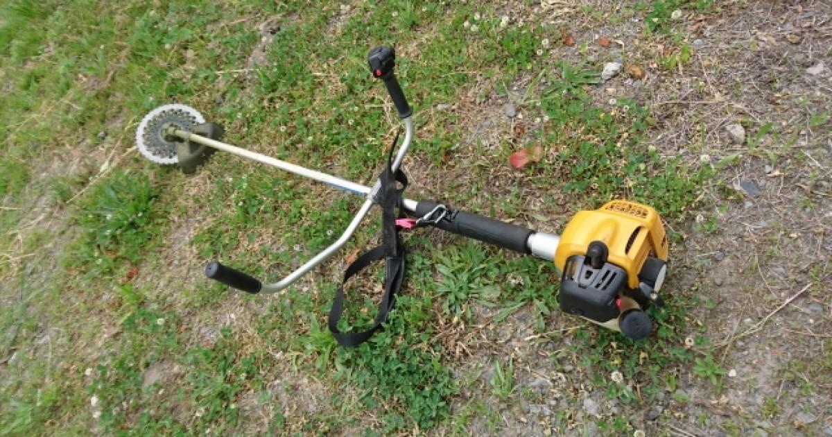 草刈りを簡単にする道具