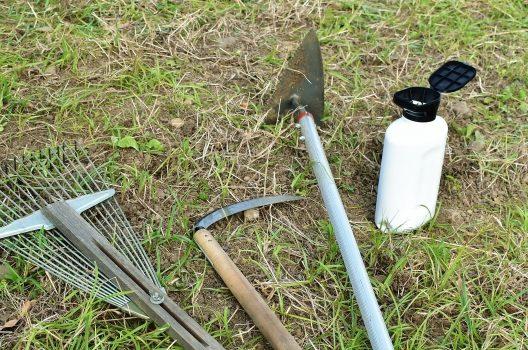 除草剤を準備しよう